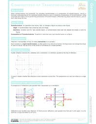 composition of transformations ck 12 foundation