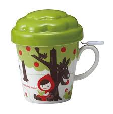 cool cups in the hood otogicco little red riding hood apple tree mug cup with tea strainer
