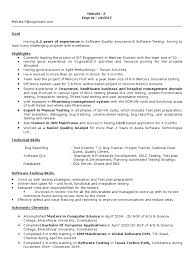 Testing Resumes 7 Years Experience Manual Testing Experienced Resume 1 Software Testing