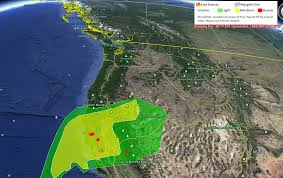Wildfire Haze Map by Smoke Impacts The Emerald Counties U2013 Redheaded Blackbelt