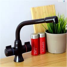 low water pressure kitchen faucet but sprayer fine