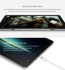 chuwi hi10 pro 2 in 1 tablet pc windows 10 android 5 1 gray