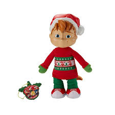 Alvin And The Chipmunks Christmas Ornament - alvin and the chipmunks singing holiday alvin plush doll fdp27