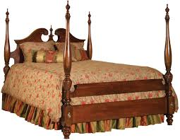 Bedroom Sets Visalia Ca Kincaid Furniture Carriage House Queen Broken Pediment Poster Bed