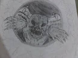 my monster from the hole drawing