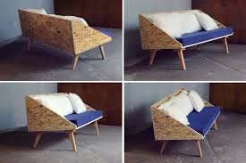 structure canapé petit canapé deux places pieds en hêtre massif structure en osb