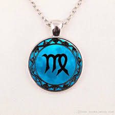 blue moon necklace images Wholesale libra necklace cancer zodiac sign jewelry gemini blue jpg