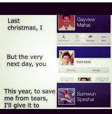 Last Christmas Meme - the best lyrics memes memedroid