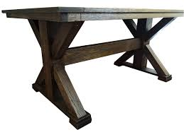 free dining room table plans extending fixed trestle table plans u2013 mccauley u0027s design
