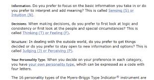 nuke pro briggs myers personality types know thyself