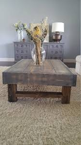 Woodworking Plans For A Coffee Table by Best 25 Rustic Coffee Tables Ideas On Pinterest House Furniture