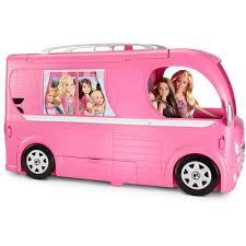 Barbie Kitchen Set For Kids Barbie Pop Up Camper Playset Walmart Com