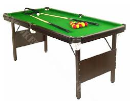5ft Folding Pool Table Foldaway Snooker Tables 5ft 6ft 7ft Composition Bed Tables Made