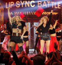 channing tatum insists he never beyonce joins channing tatum onstage for lip sync battle and