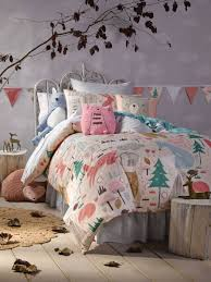 girls quilt bedding create the perfect pink forest for your u0027s bedroom kids