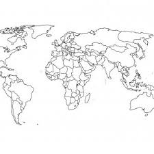 printable world map blank countries blank world map with countries outline printable archives 7bit co
