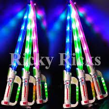 lightsaber toy light up light up ninja sword w sound flashing led toy stick lightsaber fx