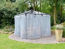tonnelle de jardin avec moustiquaire set de 2 moustiquaires pour tonnelles grises set de 2