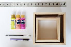 diy double box shelf