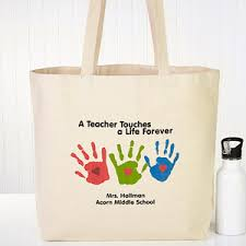 personalized tote bags children s handprints