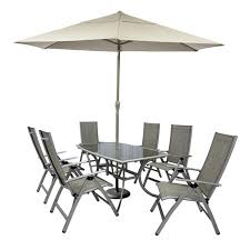 6 Seat Patio Dining Set Garden Furniture Sets 6 Seats Modrox Com