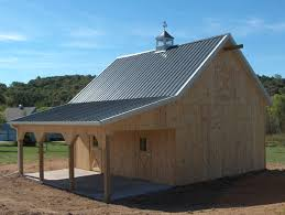 How To Pole Building Construction by Pole Buildings With Living Quarters Equine Pole Barns Pole
