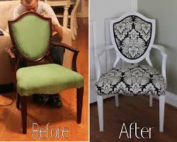Recover Chair How To Reupholster A Chair S On Sew It Recovering Chair Cushions