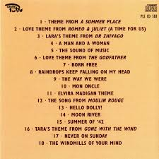 theme from a summer place disc 2 themes from stage and screen