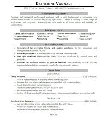 Sample Resume For Office Work by Resume Clerical Work Resume