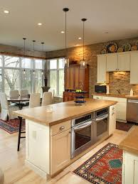 Wall Oven Under Cooktop Oven In Island Houzz