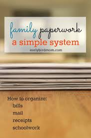 how to organize a file cabinet system organizing your paperwork a simple system