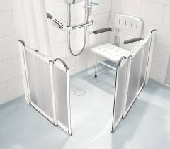 Disabled Half Height Shower Doors Half Height Shower Doors By Impey Practical Bathing