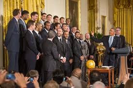 White House Tours Obama by The 2014 Nba Champion San Antonio Spurs Visit The White House