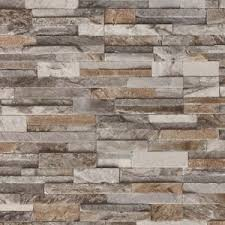 3d split face tile brick slate stone effect vinyl washable