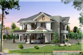 contemporary style kerala home design modern home architecture blueprints