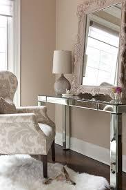 Silver Vanity Table Livelovediy Diy Thrift Store Desk Makeover Using Silver Leaf