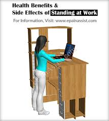 Standing Desk Health Benefits Health Benefits Of Standing At Work Do U0027s U0026 Dont U0027s While Standing
