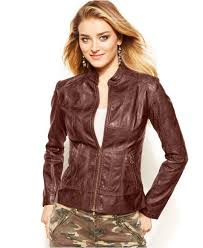 brown leather jackets for fashion womens leather jacket