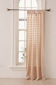 Purple Curtains Target Textured Weave Back Tab Window Curtain Panel Brown 54