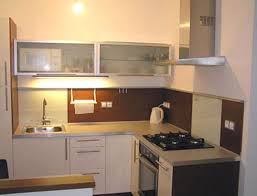 Cabinets For Small Kitchen Cozy Design Ideas Of Modular Small Kitchen With White Wooden