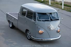 vintage volkswagen truck luke u0027s dual cab vw bus vintage vw australia