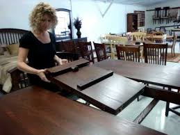 Butterfly Leaf Option On Leola Pub Tables YouTube - Dining room table with butterfly leaf