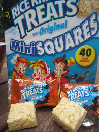 the holidaze halloween krispies treats
