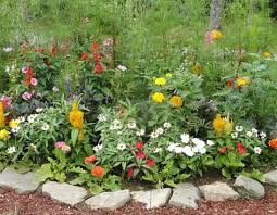 Flower Garden Ideas Rustic Flower Garden Ideas Inspiration Interior Designs