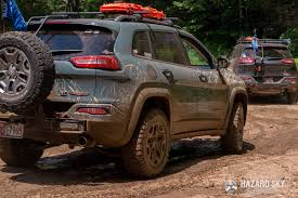 jeep trailhawk lifted hazard sky