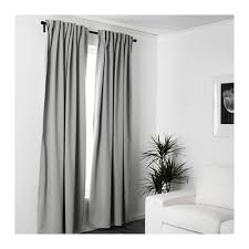 Gray Blackout Curtains Majgull Blackout Curtains 1 Pair Ikea