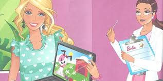 barbie book programming tells girls boys code