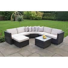 Rattan Curved Sofa by Rattan Outdoor Corner Sofa Sets Centerfieldbar Com