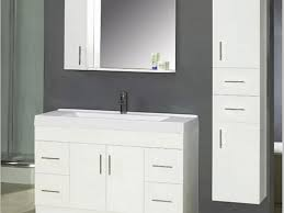 bathroom vanity wonderful white painted wood mirror medicine