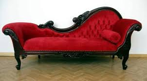 Red Leather Chaise Lounge Chairs Living Room Red Chaise Lounge Sofa Comfortable Lounge Furniture
